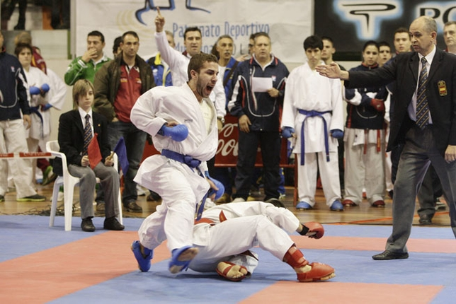 matias gomez deportista sanus vitae karate
