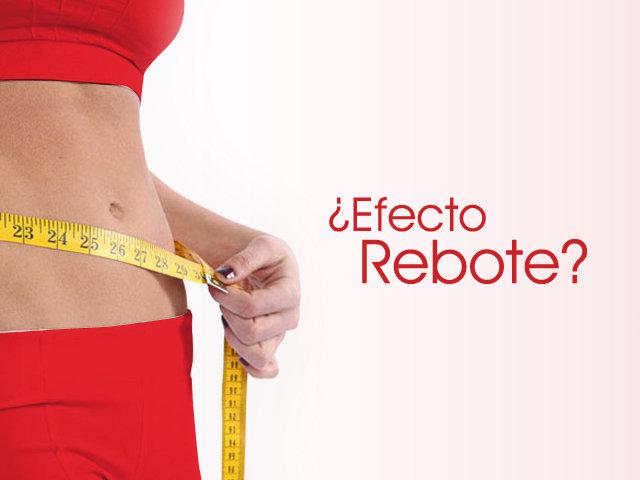 efecto rebote dietas milagro