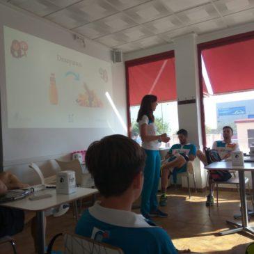 Andrea Ferrandis, en el equipo de tecnificación de pádel de la Comunitat Valenciana