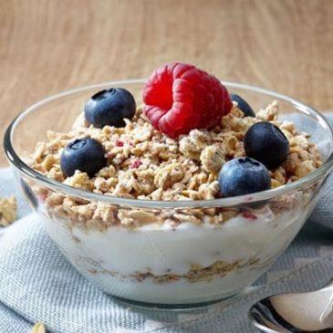 Receta: Desayuno de avena con frutas