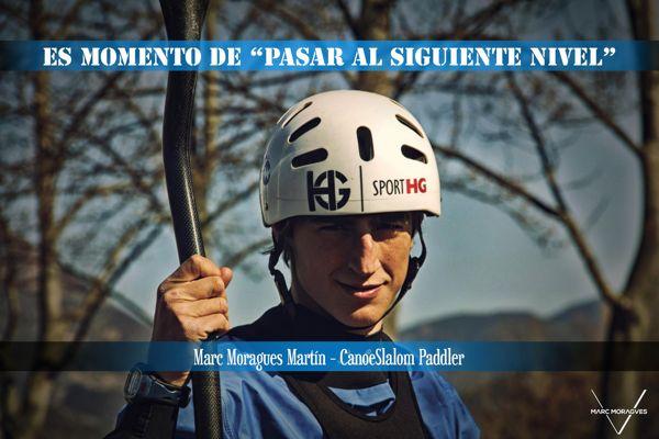 Marc Moragues, uno de los mejores palistas nacionales se pone en mano de Sanus Vitae
