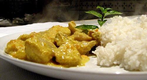Recetas Para Deportistas: Arroz con pollo al curry