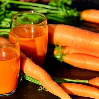 Zanahoria, betacarotenos y sol