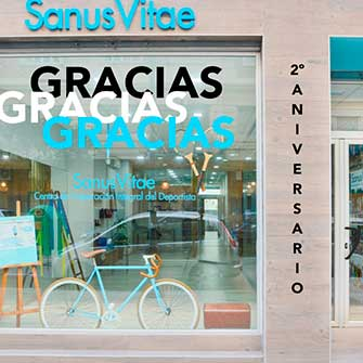 El Centro Sanus cumple dos años y… ¡¡lo celebramos!!