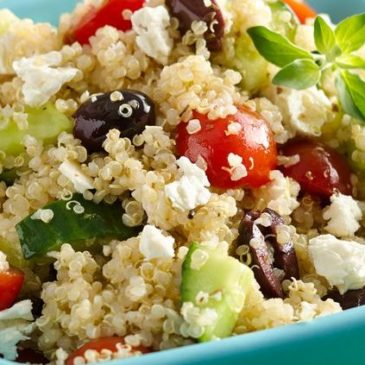 Receta: Ensalada de quinoa con verduras