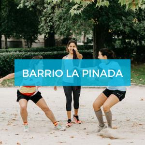 Barrio la Pinada Sanus Vitae entrenamiento físico
