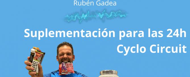 Suplementación para ciclismo
