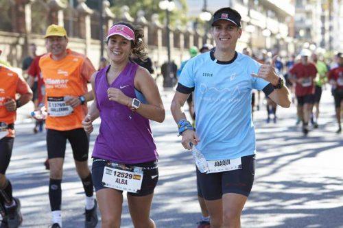 Entrenar una maratón valencia